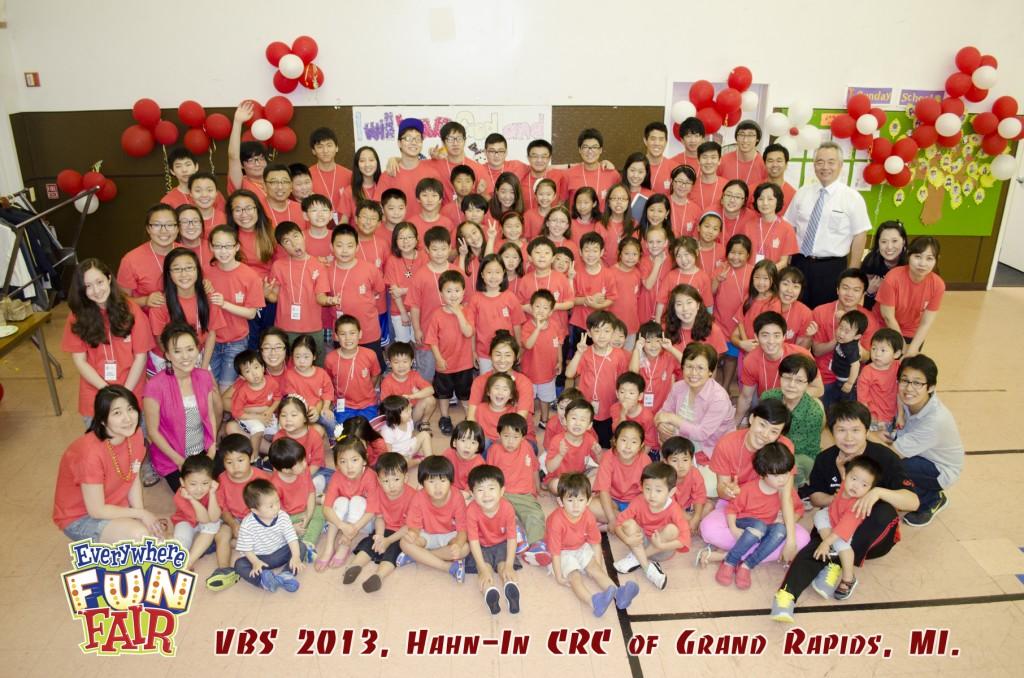 VBS2013 단체사진
