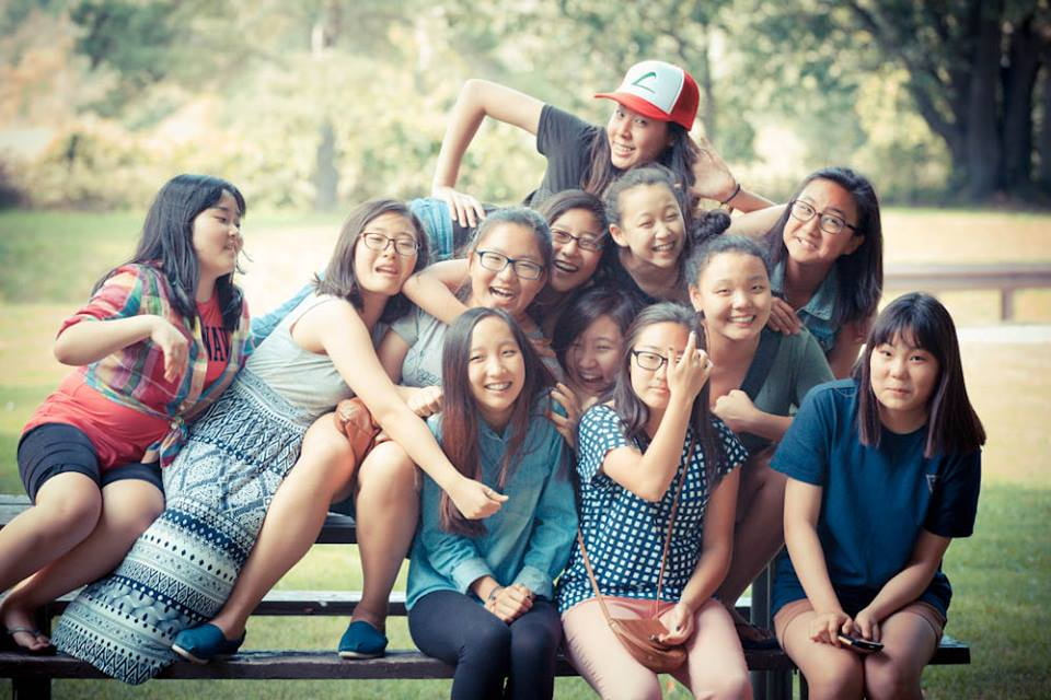 Youth Group Girls